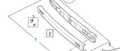 SAIC MAXUS parts, V80 Genuine Bumper, SKIN-RR BPR