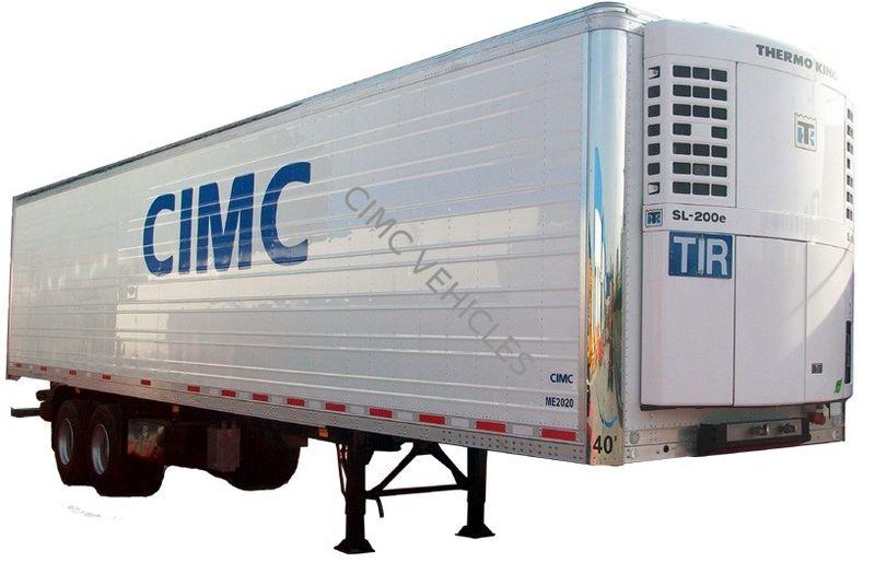 40ft Reefer Semi-trailer Aluminum Panels type