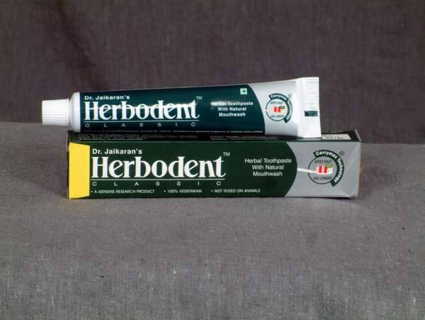 Herbodent Herbal Toothpaste (Non fluoride)