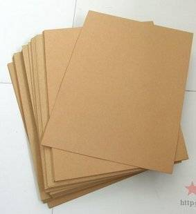 PE coated kraft paper card for offset printing