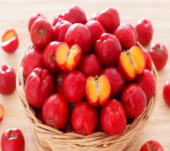 Organic Freeze Dried Acerola Cherry Powder