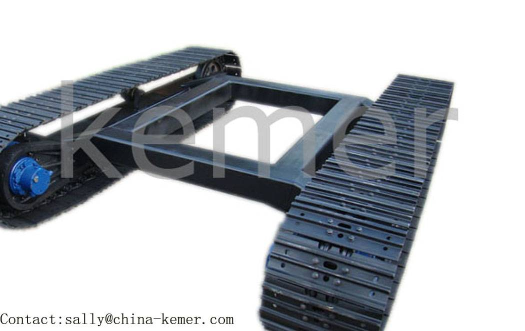 steel track undercarriage/crawler chassis