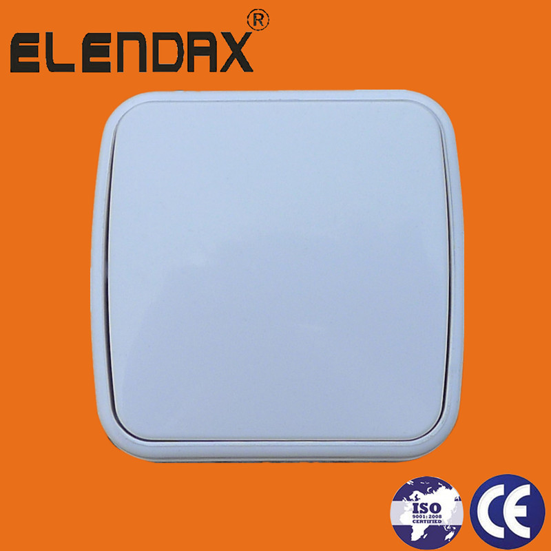 EU 10A Surface Mounted One Gang One Way Wall Switch(S6001)