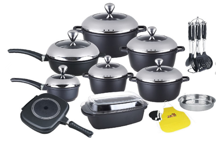 24pcs cookware sets