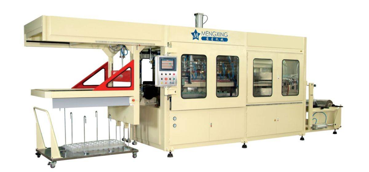 XC46-71/122-CWP Fully Automatic and Computerized Vacuum Forming Machine