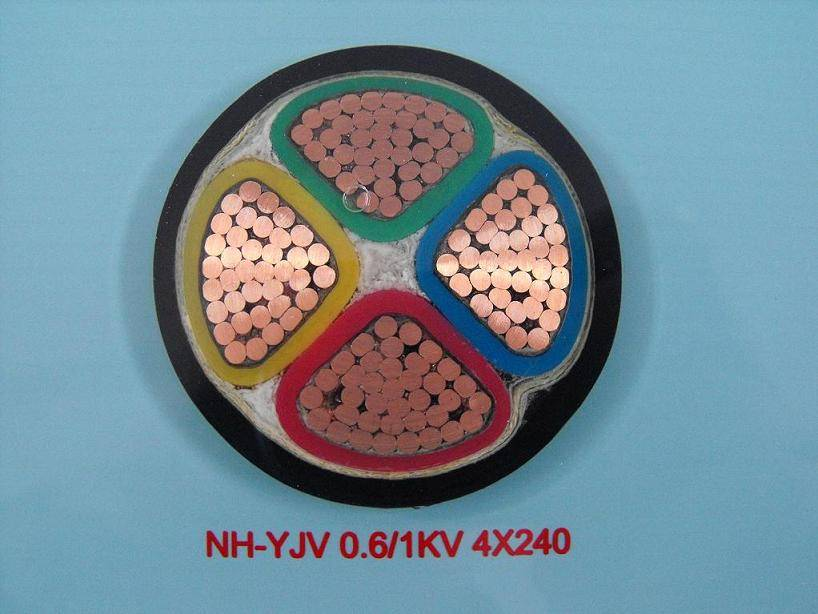 Fire-resistant Power Cable with PVC Insulation and Sheath