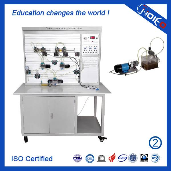 Transparent Electro Hydraulic Trainer,technical educational trainer aid,vocational training device,e