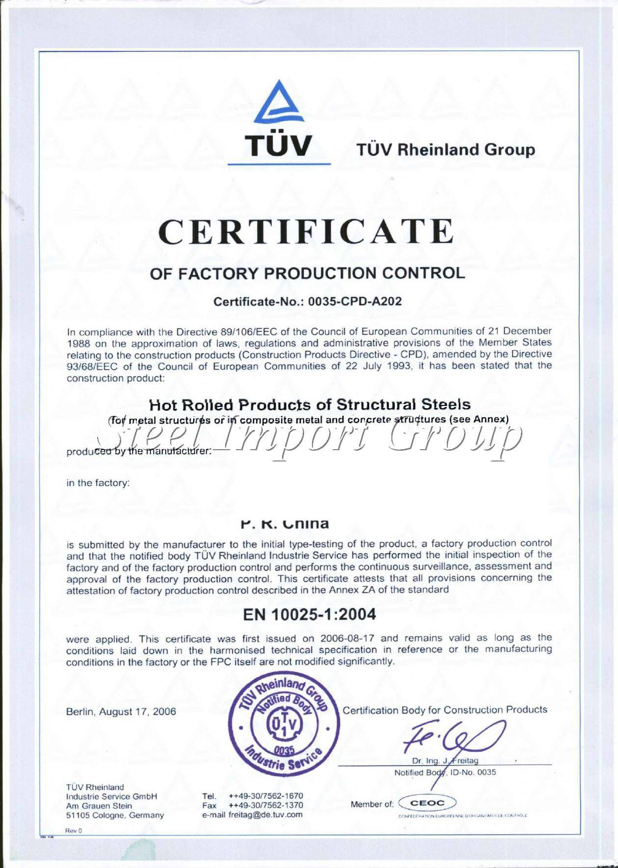 sell plates,angles,flat bars,billets,D rebars in EN standarts from China /TUV certification-manufact