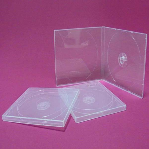 Clear pp cd case