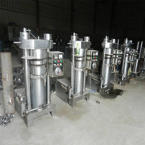 Sesame oil mill sesame hydraulic oil press