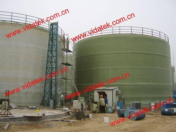 FRP GRP Vertical tank filament winding machine
