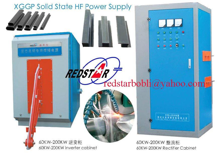 high frequency tube welding equipment,ERW carbon steel pipe making