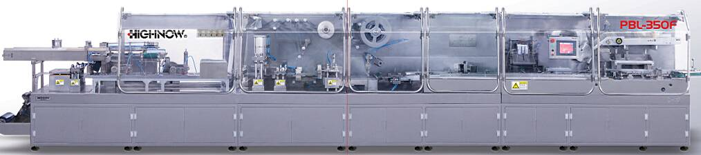 PBL-350F Automatic Ampoule Vial Double Feeder Packing Production Line