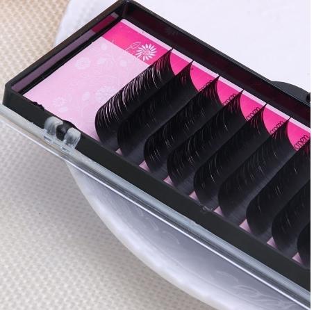 korea silk /mink fur single individual eyelash extension