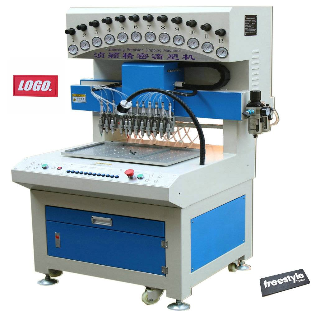 Automatic pvc label dripping/dispensing Machinery