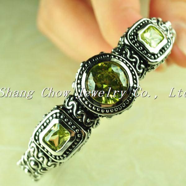 Citrine 925 Sterling silver Gemstone Bracelet