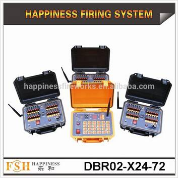 On promotion + 500M wireless Control + adjust different sequential time+ fireworks firing system for