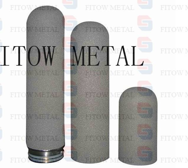 Metal sintered filters pipes