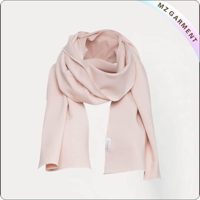 Pink Cotton Scarf