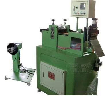copper corrugated fin machine