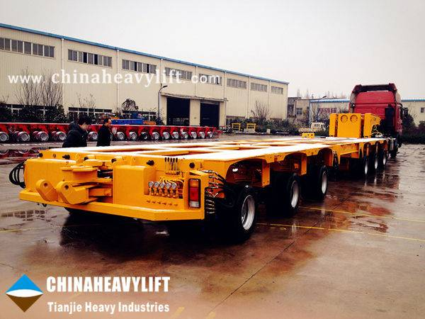 Modular Trailer - Hydraulic Multi Axle Trailer-manufactured by CHINAHEAVYLIFT