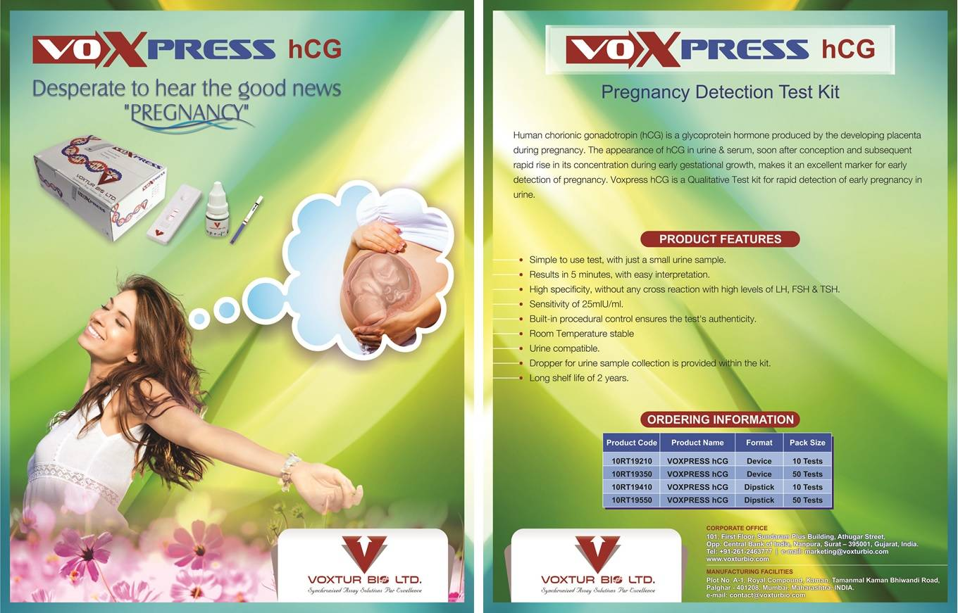 Voxpress HCG Test