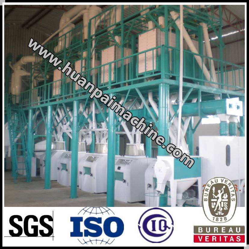 fully automatic wheat flour processing machienry