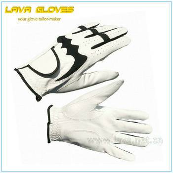 Sheepskin Leather Sports Gloves for Golf Wholesale GF1002
