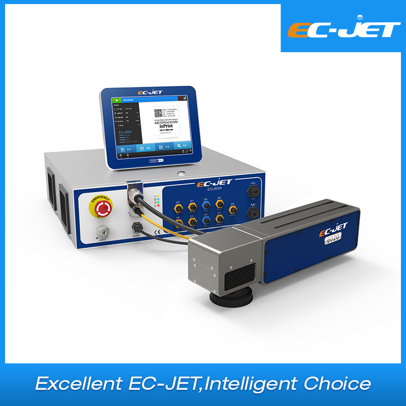 Fiber Laser Marking Machine Stainless Color Engraving (ECL6030)