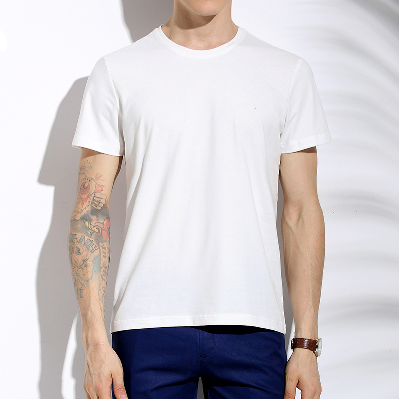 Brief Fashion Cottons T Shirts Cheap Wholesale Clothing Mens T Shirts