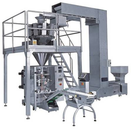 Big weighing & packaging line system/ packaging line