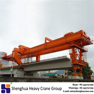 450 ton overhead full span launching gantry crane for highway T beam