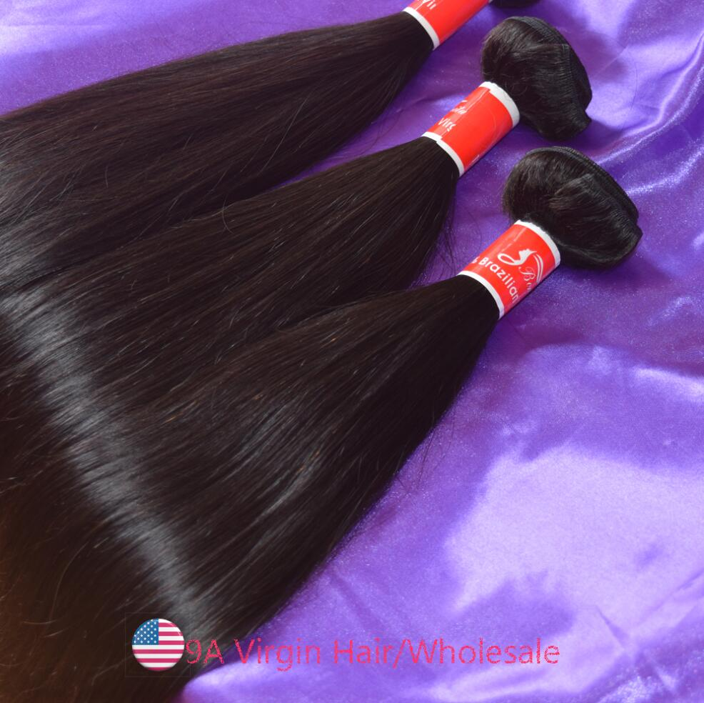 Ballice Hair 9A Brazilian Silky Straight Virgin Hair Bundles