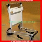 no brake aluminum airport trolley