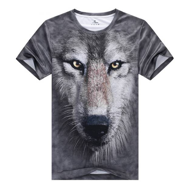 Custom 3d t shirt with digital sublimation China professional supplier