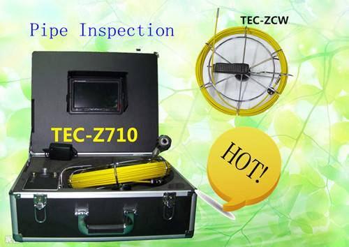Long Used Pipe and Wall Inspection Camera Sewer Drain Camera TEC-Z710
