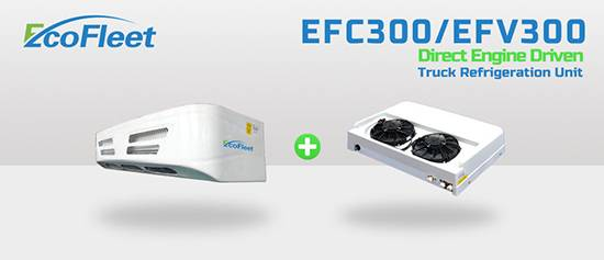 Engine Driect Driven Refrigeration Units for Truck EFC300/EFV300