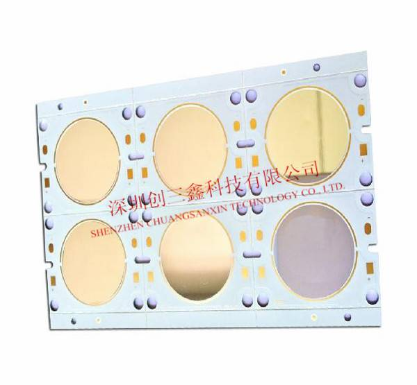 COB mirror Aluminium base PCB