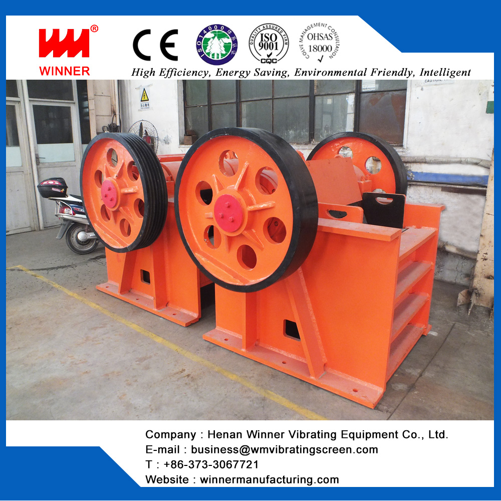 Mining jaw stone crusher machine from WINNER