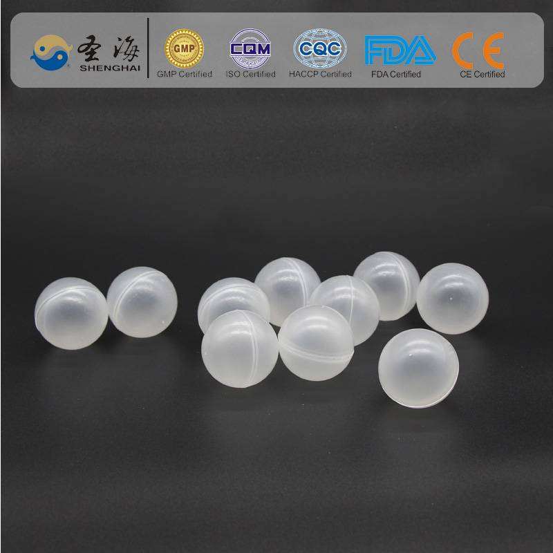 PP ( Polypropylene ) 25mm plastic solar ball for Ammonia reductionPP ( Polypropylene ) 25mm plasti