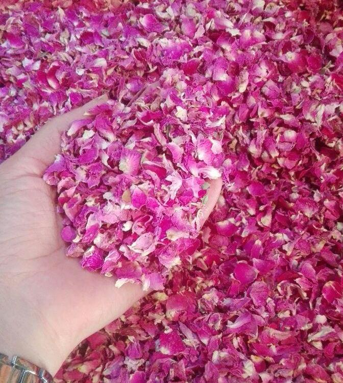 High Quality Dried Damask Rose Petals
