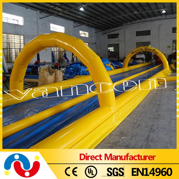 High Quality Inflatable City Slide Water Slip N Slide For Sale
