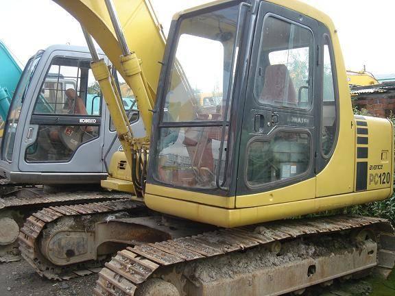 Used Komatsu Mini Excavator PC120