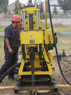 China made water well drilling rig, drilling machinery for sale!