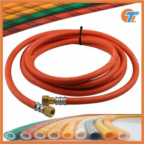 family safe PVC and rubber compound lpg gas hose pipe tube