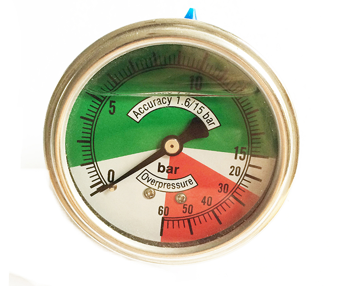 Non-linear Pressure Gauge,back connection