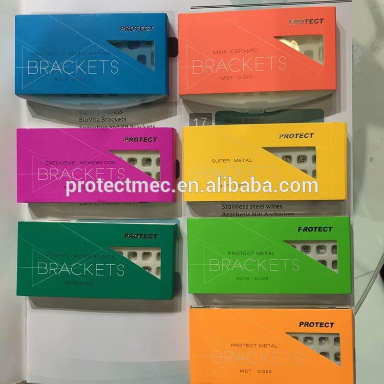 orthodontic metal GeMi bracket dental supplies