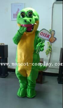 OISK Professional custom mascot costume green crocodile mascot adult size