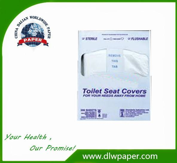 1/4 fold Hotel Use Toilet Seat Covers Paper