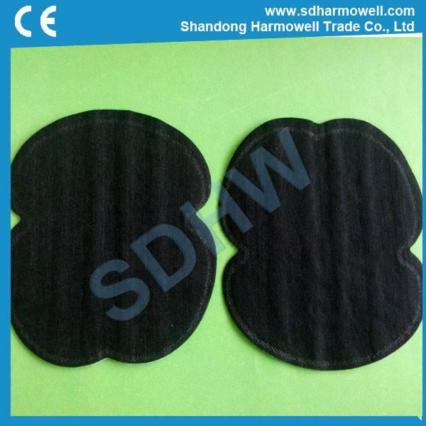 Underarm sweat pads AP-03 in black color